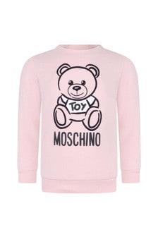 Moschino Kids Baby Girls Teddy Sweater