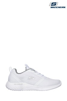 Skechers White Bounder Trainers