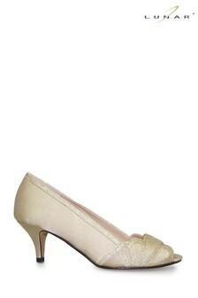 Lunar Natural Dalia Kitten Heel Shoes