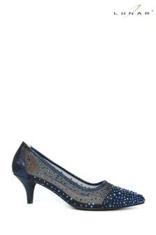 Lunar Blue Alisha Gemstone Kitten Heels