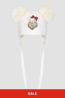 Monnalisa Baby Girls Wool Hat