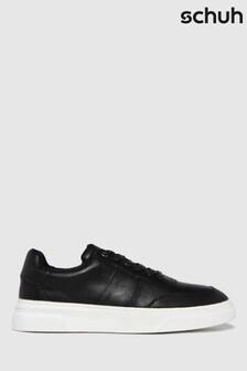 Schuh Black Warner Chunky Trainers