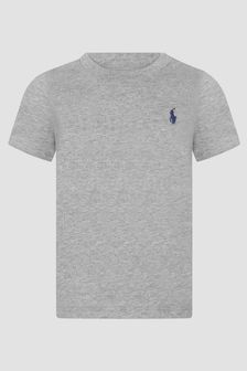 Ralph Lauren Kids Baby Boys Grey T-Shirt