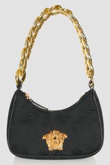 Versace Girls Black Bag