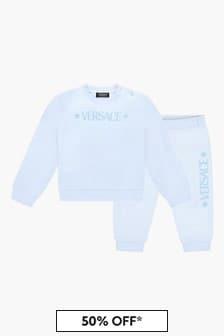Versace Baby Boys Blue Tracksuit