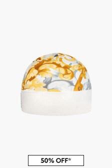Versace Baby White Hat