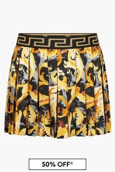 Versace Girls Black Skirt
