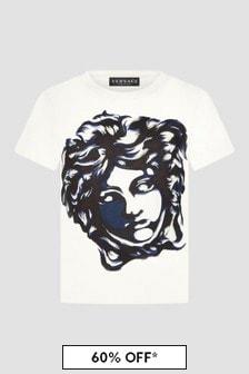 Versace Unisex White T-Shirt