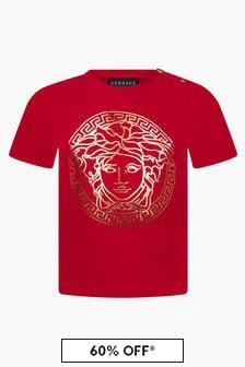 Versace Baby Boys Red T-Shirt