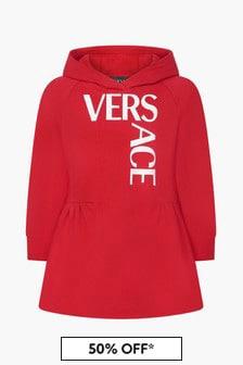 Versace Girls Red Dress