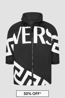 Versace Kids Black Jacket