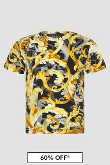 Versace Baby Boys Black T-Shirt
