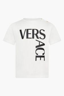 Versace Baby White T-Shirt