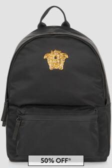 Versace Kids Black Bag