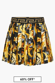 Versace Baby Girls Black Skirt