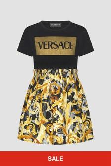 Versace Girls Black Dress