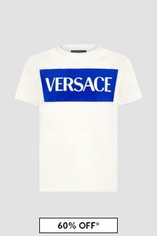 Versace Kids White T-Shirt