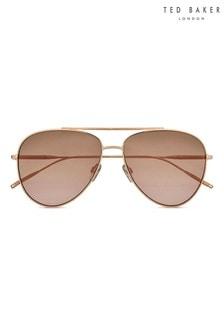 Ted Baker Flat Fronted Navigator Sunglasses
