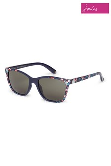 Joules Navy Sunglasses With All Over Floral Print