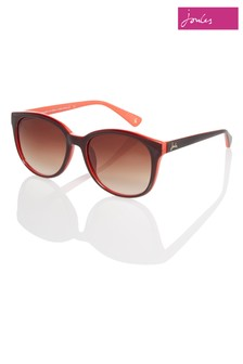 Joules Vintage Brown Round Eye Dual Colour Sunglasses