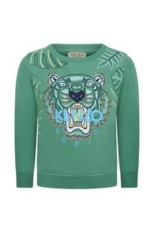 Kenzo Kids Boys Tiger Sweater