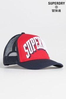 Superdry Sport Tri Logo Trucker Cap