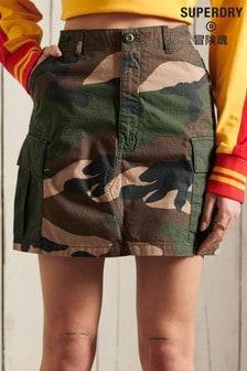Superdry Straight Cargo Skirt
