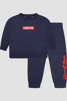 Levis Kidswear Baby Boys Navy Tracksuit