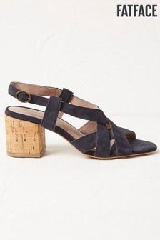 FatFace Blue Pippa Plait Sandals