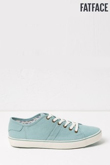 FatFace Green Lola Lace-Up Trainers