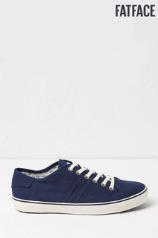 FatFace Blue Lola Lace-Up Trainers