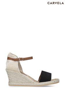 Carvela Comfort Black Stella Sandals
