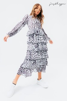 Hype. Dalmatian Midi Dress