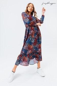 Hype. Multi Prints Dress