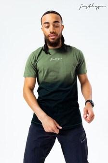 Hype. Mens Khaki Fade T-Shirt