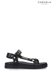 Carvela Black Kostello Sandals