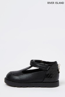 River Island Black Low Boots