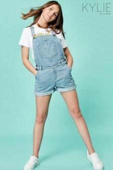 Kylie Blue Teen Dungaree Shorts