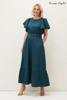 Phase Eight Blue Dinah Maxi Dress