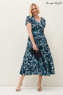 Phase Eight Blue Lola Floral Dress