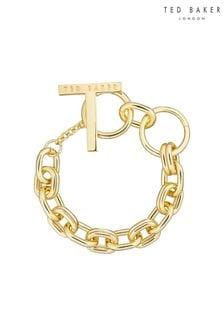 Ted Baker Gold Teesara: Tee Chain Bracelet