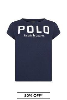Ralph Lauren Kids Girls Cotton Polo T-Shirt