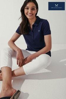 Crew Clothing Company Blue Ocean Classic Polo Shirt