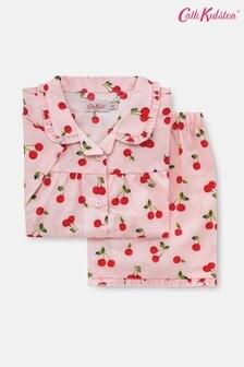 Cath Kidston Kids Cherries Short Sleeve Woven Pyjamas
