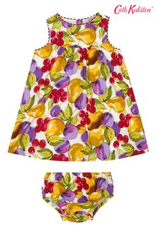 Cath Kidston Baby Small Painted Fruit Eleanor Dress