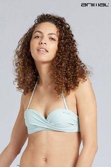 Animal Womens Docks Recycled Bandeau Bikini Top