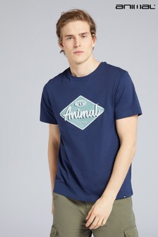 Animal Mens Diamond Logo Organic T-Shirt
