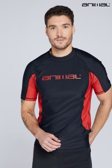 Animal Mens Kai Recycled Short Sleeve Rash Vest