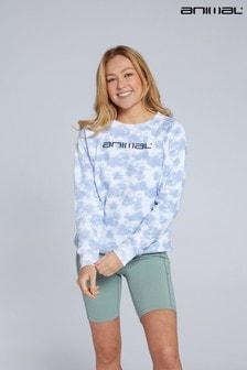 Animal Blue Mila Organic Womens Tie Dye Sweatshirt