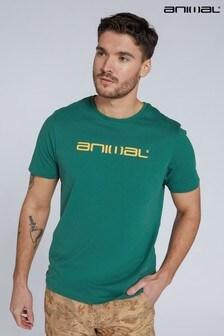 Animal Mens Classico Logo Organic T-Shirt